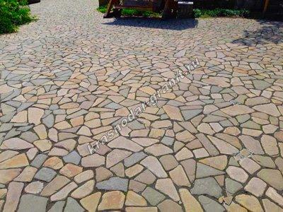 Укладка тротуарной плитки в Краснодаре, выгодные цены